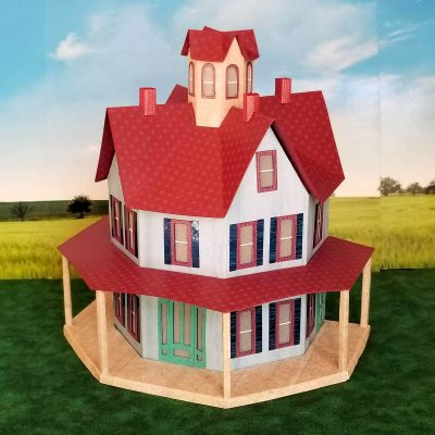 Gabled Octagon House