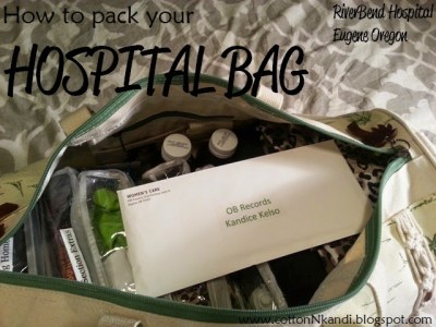 Packing your Hospital Bag. Advice from a Second Time Mom for what you really need