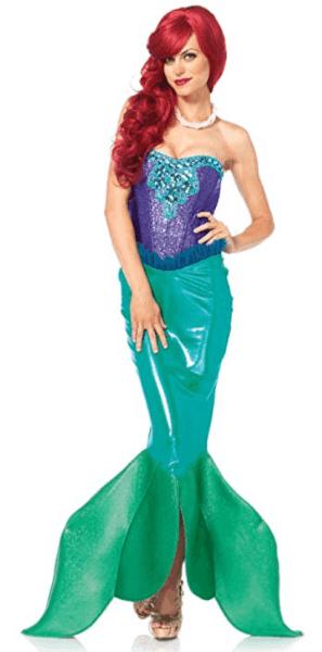 easy last minute disney costume for women on Amazon Ariel