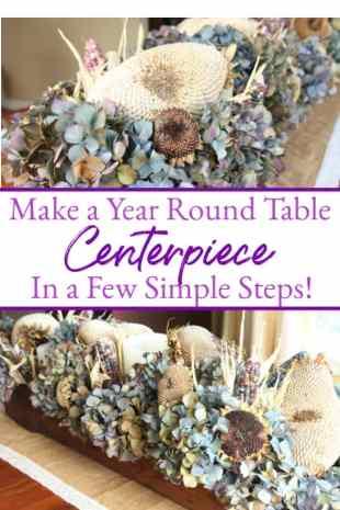 year round table centerpiece