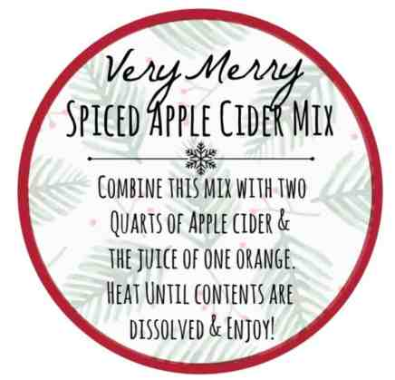 spiced apple cider recipe