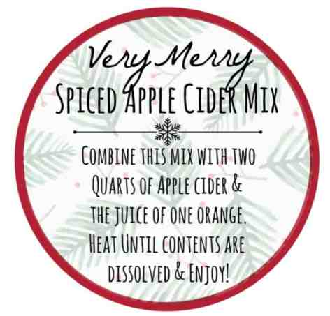 spiced apple cider recipe