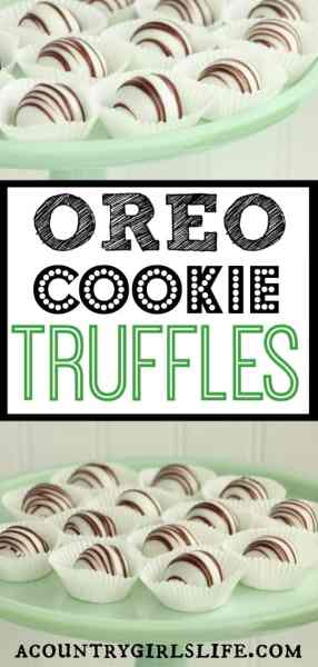 DIY Holiday Desert: Oreo Cookie Truffles