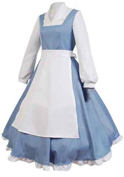 easy last minute disney costume for women on Amazon belle
