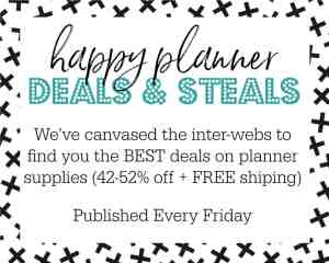 Best Happy Planner Deals & Steals! A Poor Girl's Bargain Shopping Guide