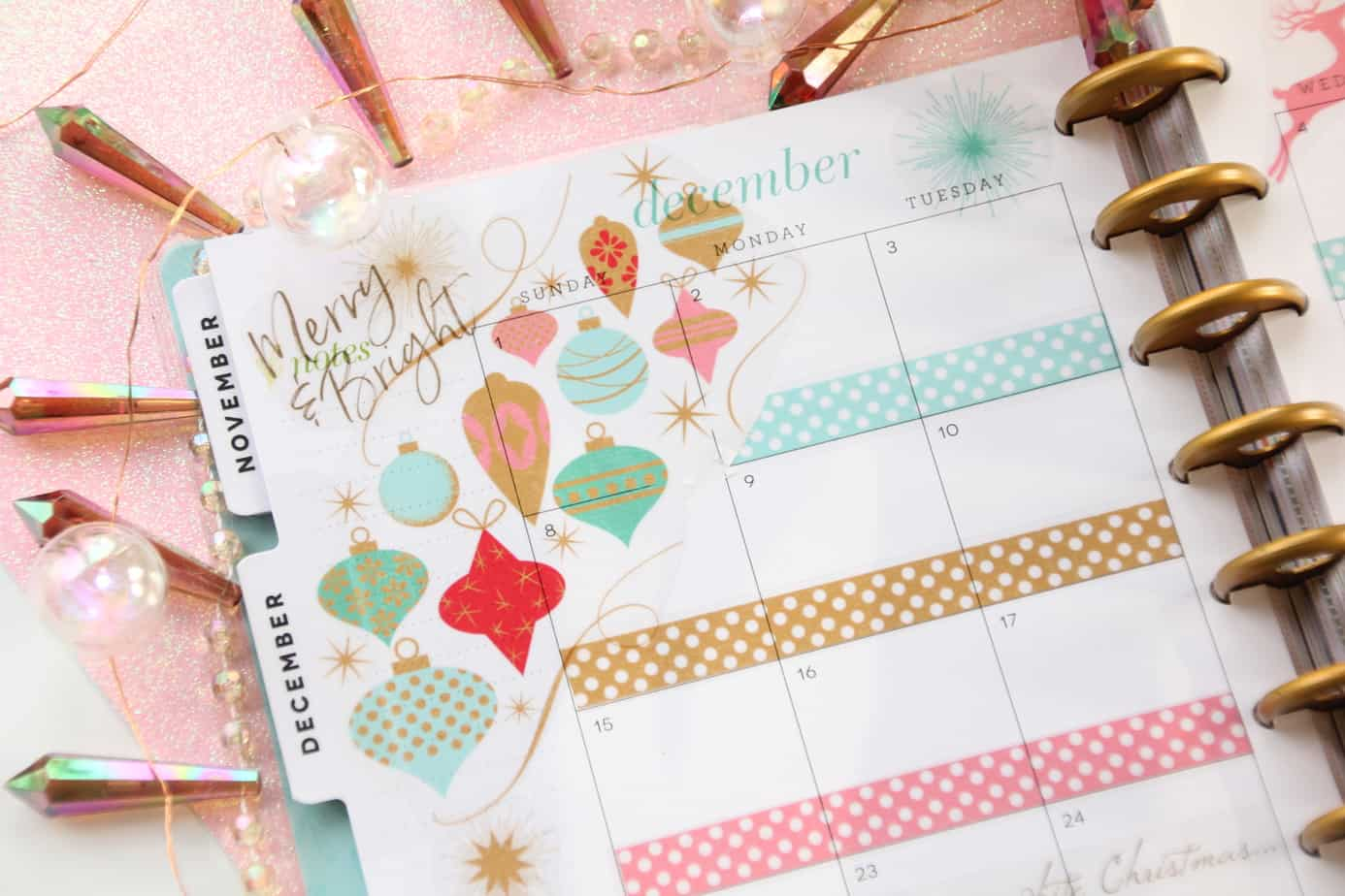 free printable christmas advent stickers for the happy planner erin condren or any planner