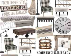 Where to Find Fixer Upper Farmhouse Decor to Feather Your Nest!