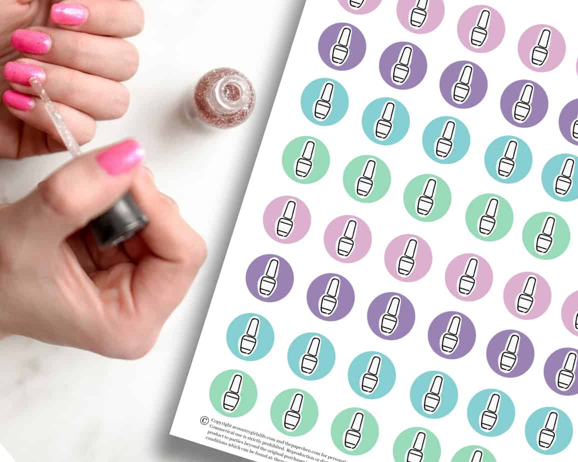 free digital planner stickers