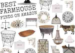 Best Farmhouse Interior Design Finds on Amazon (Over 55 Ideas to Inspire You!)
