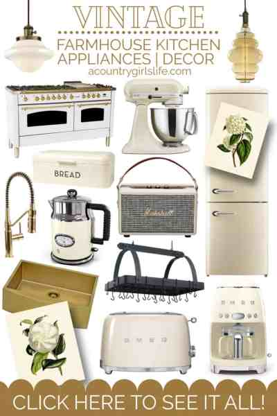farmhouse kitchen appliances