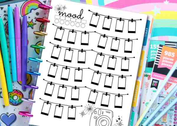 Free Printable Habit Tracker Stickers Templates Coloring Pages For Planners A Country Girl S Life