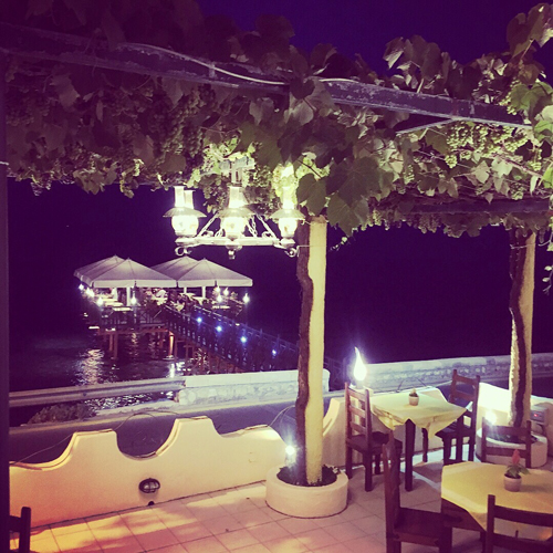 Kaiser Bridge Restaurant Corfu