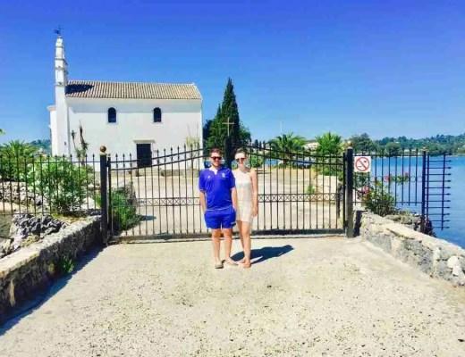 church in corfu gouvia