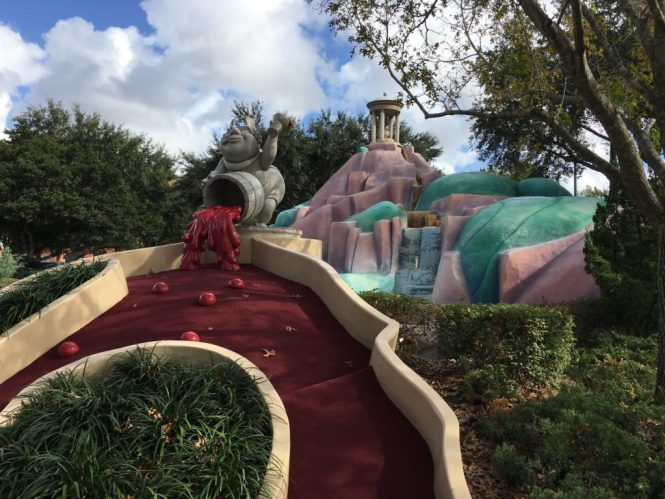 Disney S Fantasia Gardens Miniature Golf Orlando Fl A Couple Of Putts