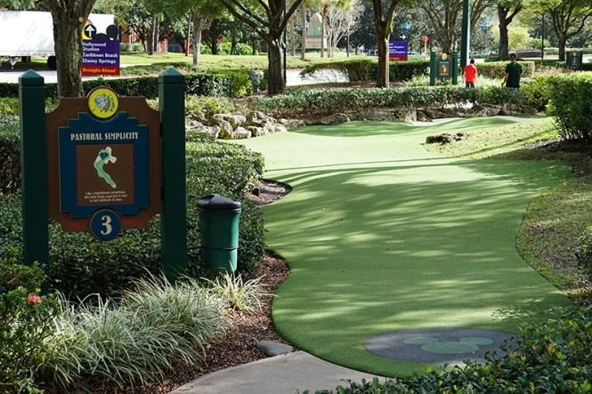 Disney S Fantasia Fairways Mini Golf Course Orlando Fl