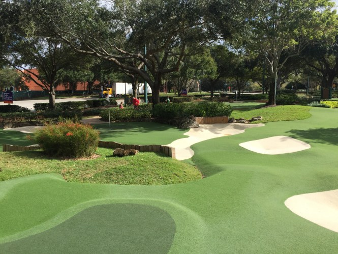 Disney s fantasia fairways mini golf course orlando fl a couple of putts for Garden city mini golf