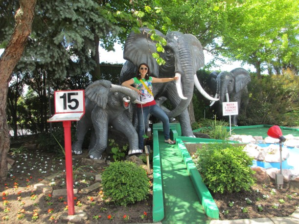 Hole 15 - Elephants