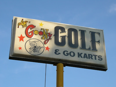Original Goony Golf sign from Chattanooga, TN