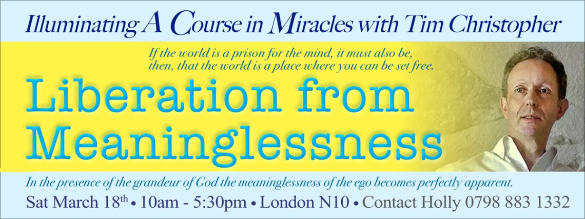 a course in miracles with tim christopher