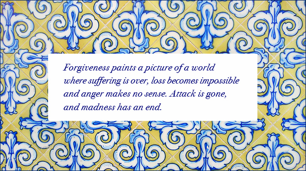 forgiveness ends all suffering and loss