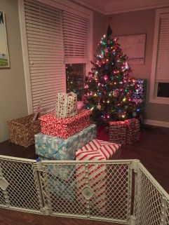 At least the presents are BY the tree