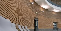 Beautiful Timber Acoustic Walls & Ceilings from Lauder ...