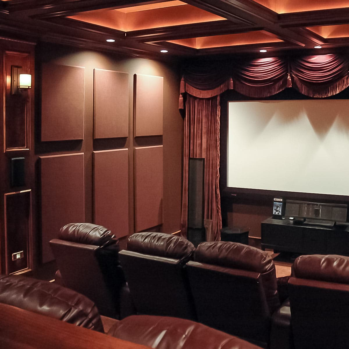 Jeff Autors Home Theater  Acoustical Solutions