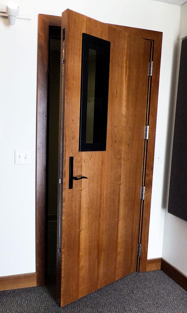Soundproof Doors, Sound Control Interior Door  Studio 3d