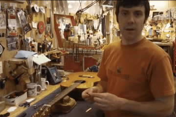 Guitar Maintenance How to Check and Adjust Saddle Height