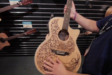 New Luna Guitar Models