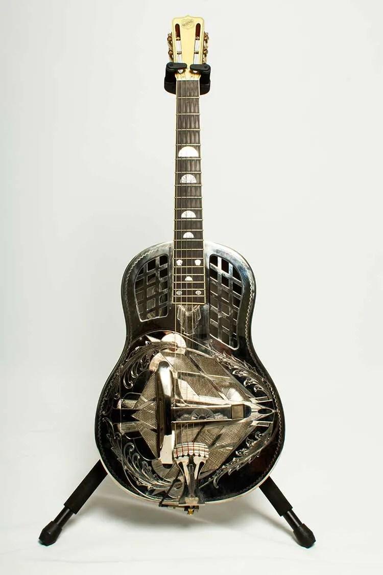1999 National Tricone Style 4 Custom Resonator guitar
