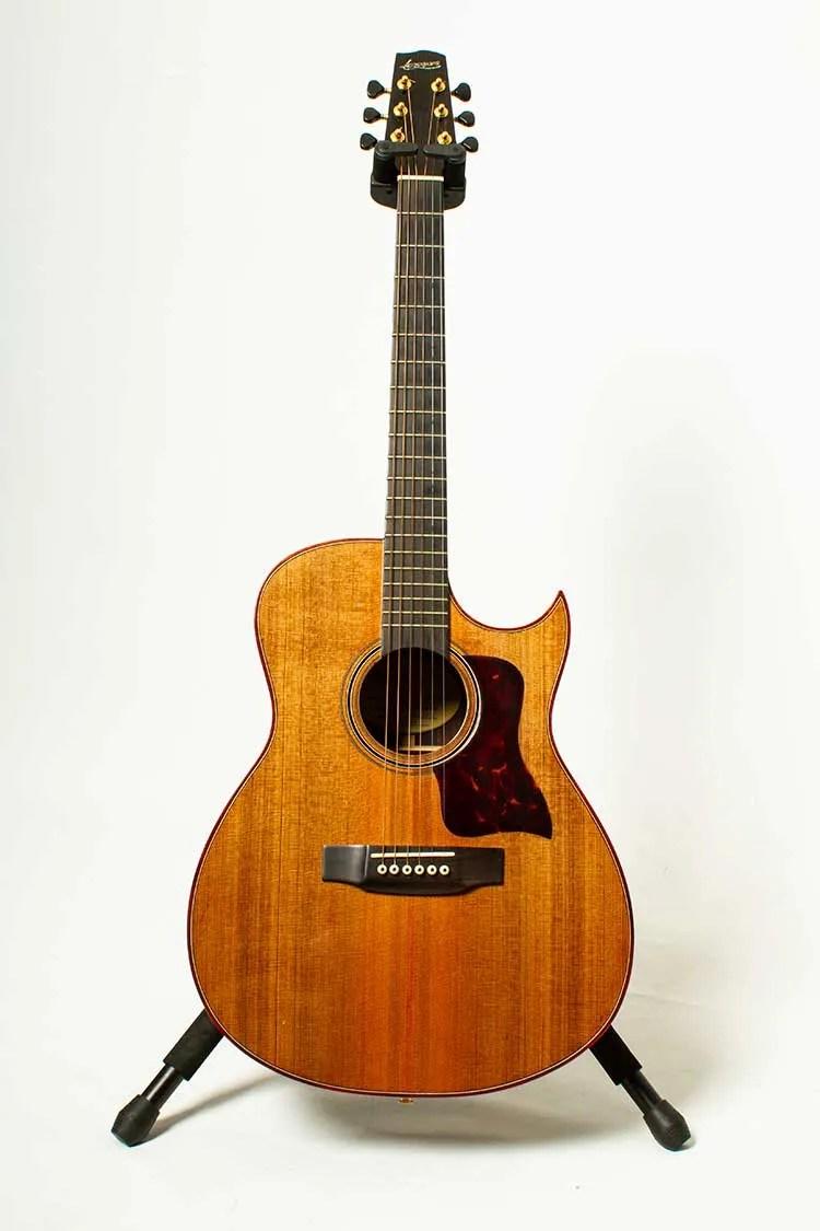 2004 Langejans RGC-6 Concert acoustic guitar