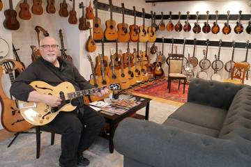 Cataloging the acoustic guitars at Woodstock – Acoustic Guitar