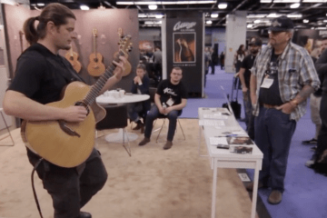 Lowden Guitars NAMM2016