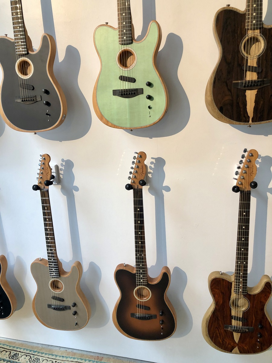 Fender Unveils the American Acoustasonic Telecaster