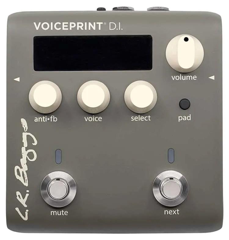 L.R. Baggs Voiceprint DI pedal front view