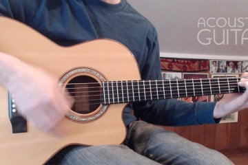 Video Lesson- How to Unlock I-IV-V Chord Progressions acoustic guitar