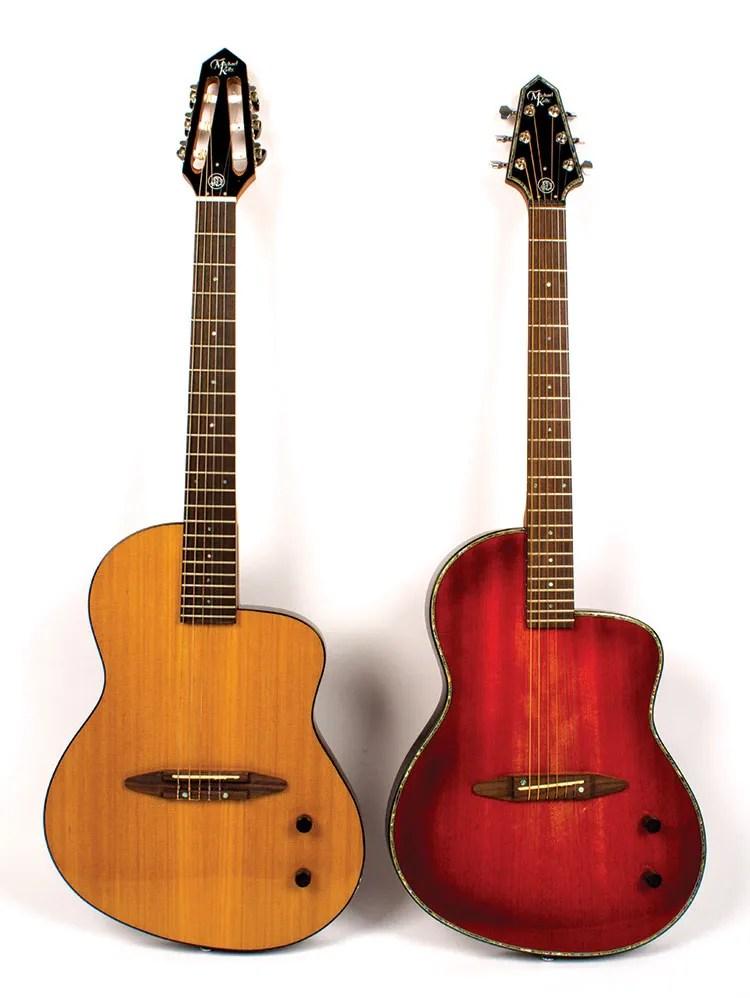 renaissance redux a pair of michael kelly rick turner boutique guitars acoustic guitar. Black Bedroom Furniture Sets. Home Design Ideas