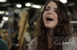 Lauren Alexander and Joseph Kindle at Winter NAMM 2016