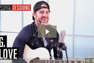 Acoustic Guitar Session G Love