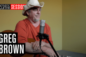 Greg Brown Acoustic Guitar Session