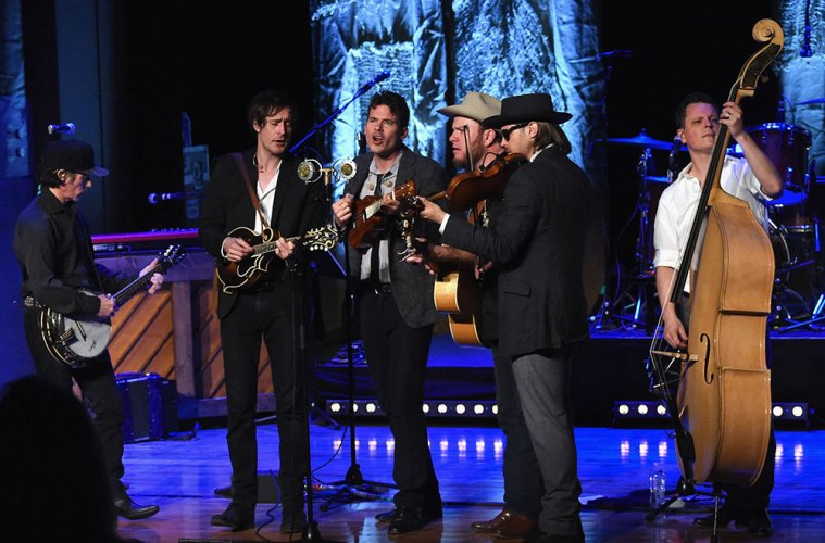 old crow medicine show cma theater dylan blonde on blonde country music hall of fame