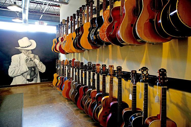 an insider s guide to nashville 10 spots to eat shop and listen to music acoustic guitar. Black Bedroom Furniture Sets. Home Design Ideas