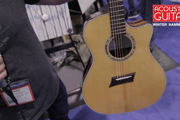 Michael Kelley Guitars Booth Visit NAMM 2017