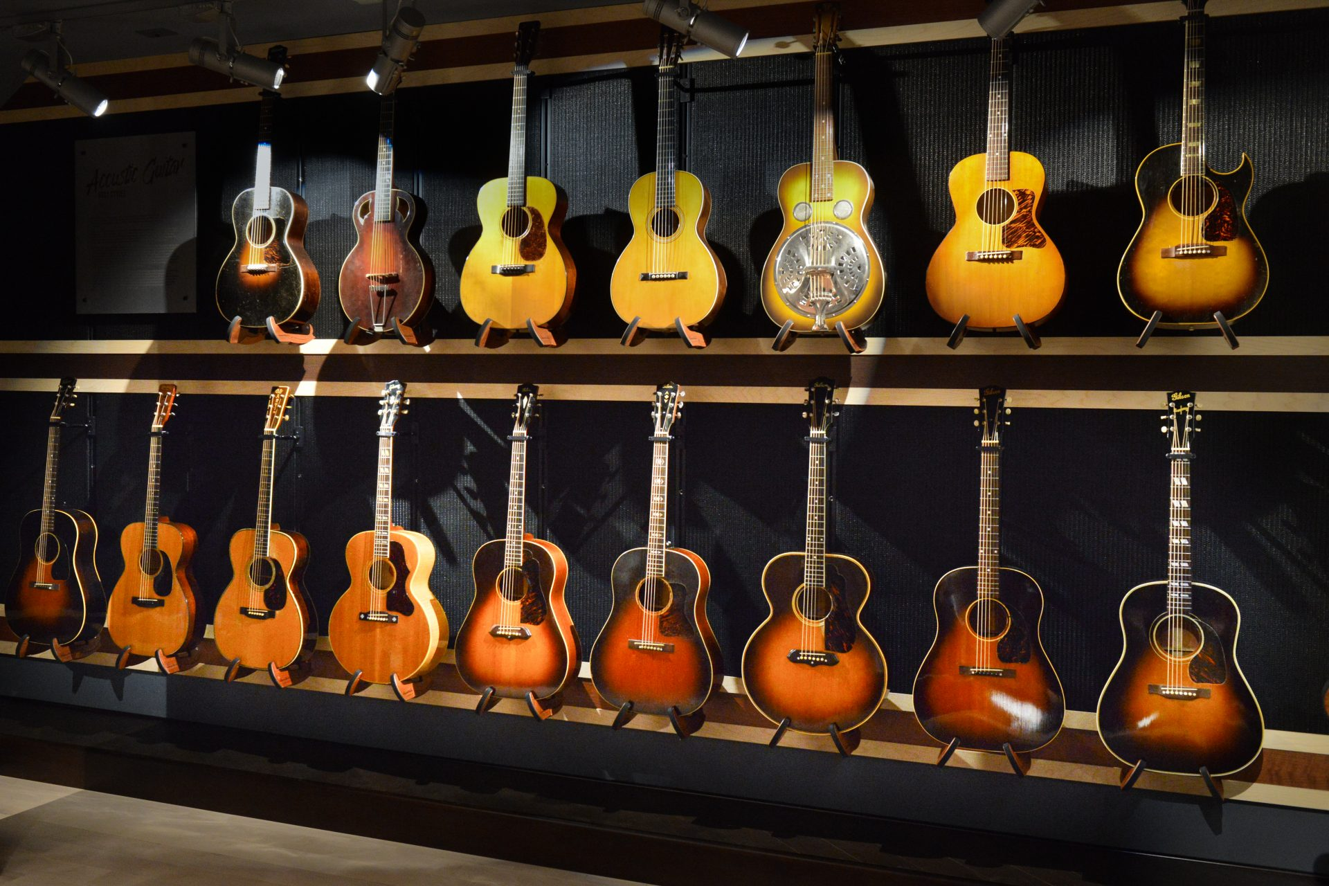 The Gallery of Iconic Guitars Opens in Nashville – Acoustic