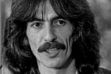 George Harrison of The Beatles acoustic guitar lesson how to write a bridge for a song