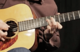Lesson Up-The-Neck Octave Exercises for Acoustic Guitar Players