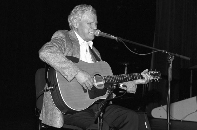 Happy Birthday Doc Watson Acoustic Guitar