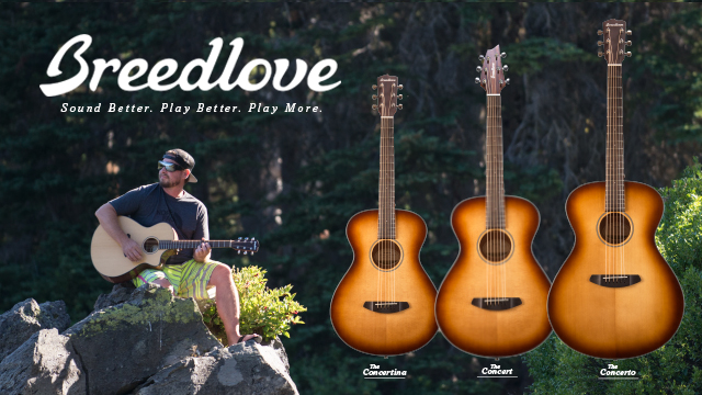 Breedlove S Revolutionary New Body Shapes Just In Time For The