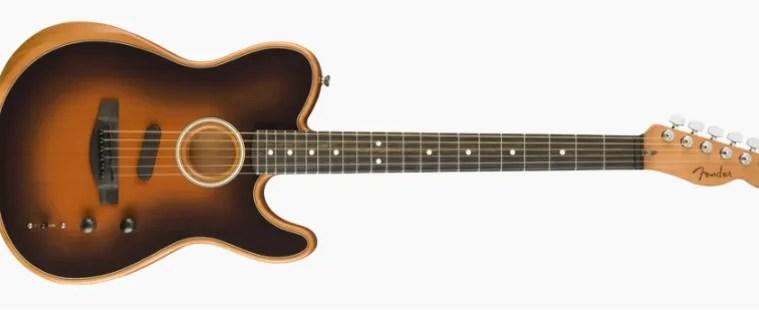 The American Acoustasonic™ Telecaster® – Acoustic Guitar